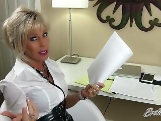 Erotic Nikki - The School Nurse Examines Your Penis And Takes Semen Sample