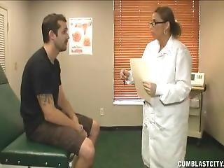 Nurse Milks Patient To Cum Explosion