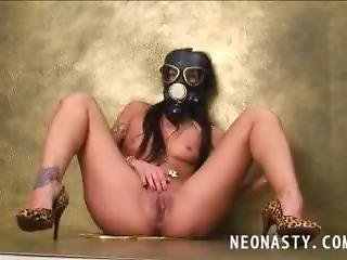 Gas Mask Masturbate 3