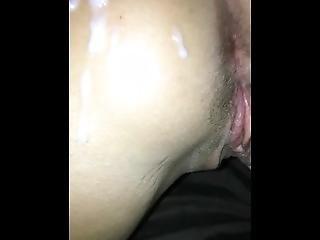 My Ex Girl Katie Getting Cum On Ass