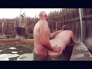 Bbw Couple Outdoor Sex