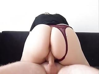 I Love To Ruin My Stretched Loose Pussy Riding My New Fantasy Toy