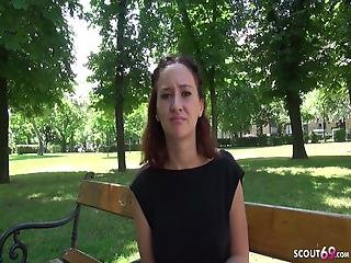 German Scout Skinny Teen Gina Get Fucked At Street Casting