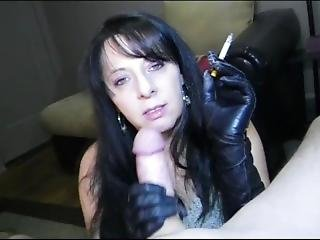 Angela Smoking With Mommy