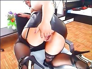 Bbw, Big Boob, Big Tit, Boob, Leather, Mature, Skirt, Webcam