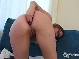 Cutie Sierra Double Toying Her Pussy And Ass