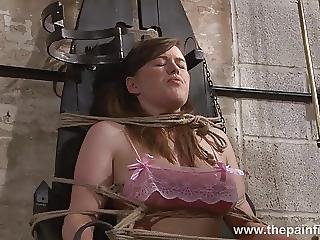 Blonde Taylor Hearts Bizarre Humiliation And Lesbian Bdsm