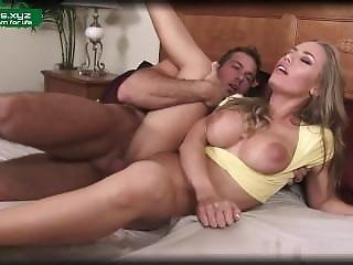 Bed Action With Hot Mom
