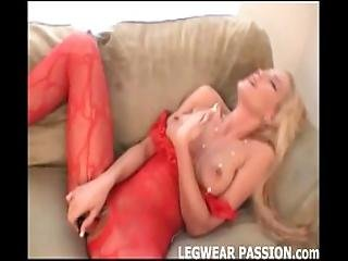 Misty Makes Herself Cum In Sexy Stockings