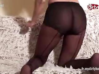 Mydirtyhobby - French Hot Brunette Teasing