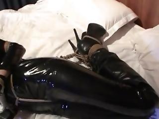 bondage, tuta intera, fetish