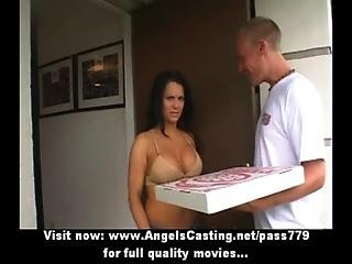 Pijp, Neuken, Latina, Milf, Pizza, Poes, Sexy