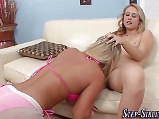 Bikini Steplez Eats Cunt