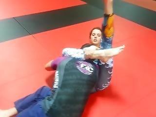 Armbar To Triangle Choke With Dfkc Athlete Colleen Merullo