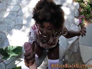 afro, bambola, nera, pompini, carica, sburrata in faccia, hardcore