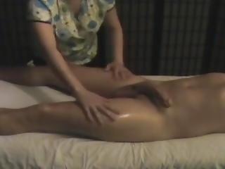 Hidden Camera Caught My Massage(happy Ending)