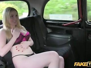 [faketaxi Full] Wet Beautiful Blonde Has Fuck While Her Dress Getting Dry