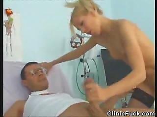 Doctor Bangs Her Patient