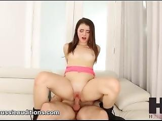 Hussie Auditions: 18 Year Old Kylie Quinn In Her First Sex Scene