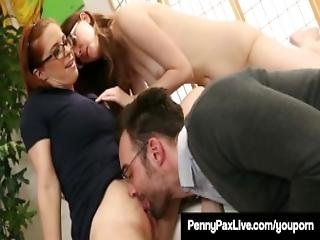 Nerdy Girls Penny Pax Jay Taylor Get Banged By Alex Legend