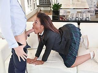 Zoey Reyes Got A Mouthful Of Dylans Big Cock