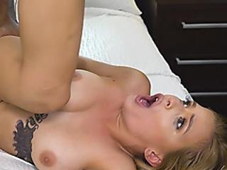 Busty Chick Gets Pounded By Cop