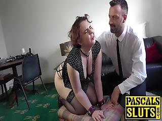 Mesmer Rose Is Brought To Tears As She Gets Flogged And Fucked By Her Master In The Office Space