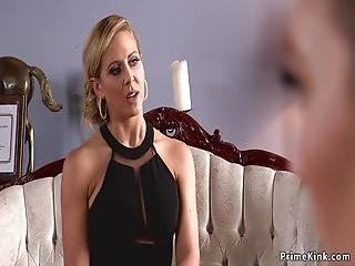 Mona Wales And Tommy Pistol Has Therapy At Marriage Therapist Cherie Deville And Tommy Puts Them Both In Rope Bondage And Anal Fucks