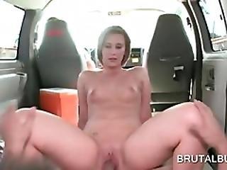 Hot Teen Fucked Deep From Behind In Bus