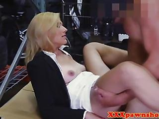 Pawnshop Amateur Facialized After Pussyfucking