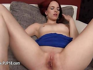 Czech Model Gaping With Gyno Vibrators