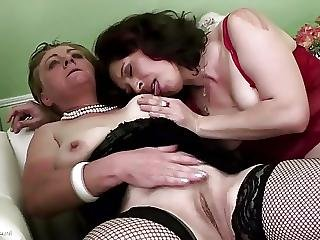 Grannies And Moms Get Warm Piss And Hard Fuck