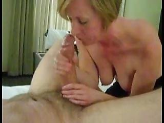 Mature Milf Blowjob Handjob Working Huge Cock Until Cum