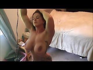 Duże Cycki, Fetysz, Masturbacja, Milf, Orgazm, Podglądacz