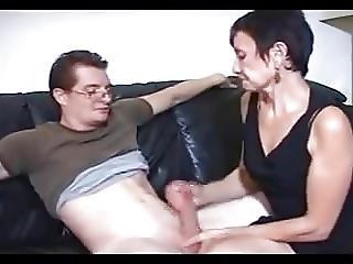 Granny And Cock