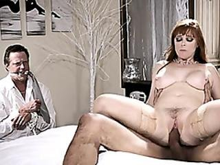 Busty Redhead Milf Wife Penny Pax In A Cuckold Session