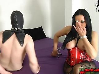 German Husband Slave And His Femdom Domina Wife