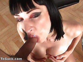 Massive Dick Gags Sofia Into Unconsciousness