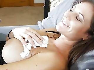 store bryster, stor cock, blowjob, bryst, milf