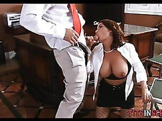 Getting Punished At School By Milf