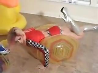 Emily Addison: Beach Ball Slow Deflate