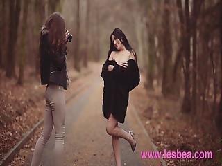 Lesbea Czech Babes Stacy Cruz And Elouisa Share Lesbian Teen