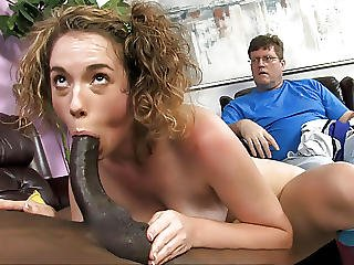 Sammy Grand Fucks Bbc While Her Father Watches