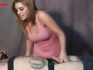 Brianna Cole Makes Him Beg To Cum