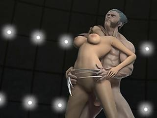 Wolverine Pounding Pussy Like Never Before