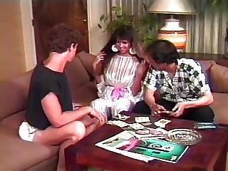 Elle Rio In Vintage Threesome