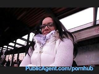 Publicagent Deepthroat Wendy Rides Me Like A Cowgirl