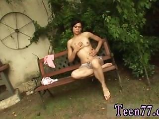 Blonde Teen Love Miho Gets Nailed In The Backyard