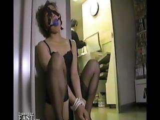 Bound And Gagged Asian Women Teased And Pleased For Intense Orgasms