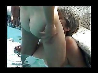 Janis Renee Xxx Milf Pool Party